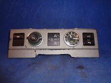 Land Rover Range Rover Clock DSC Ride Height Control L322
