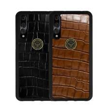 Huawei P20 PRO Hülle Schutzhülle Leder Case Schale Back Cover GAZZI KROKO