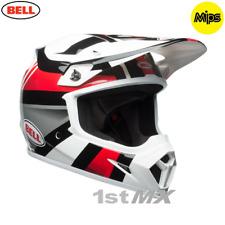 2018 Bell MX9 Marauder Black Red Motocross MX Race Helmet MIPS Medium 57-58cm