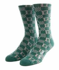 NEW VANS x HARRY POTTER Slytherin Crew Socks Green Gray SIZE 9.5 -13