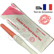 1 Test de grossesse à usage domestique détection HCG