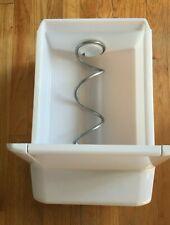 Whirlpool Refrigerator Freezer Ice Maker Bucket Assembly W10558423 Metal auger