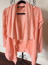 Calvin Klein Size Extra Small Peachy Pink Cardigan Slight Mark