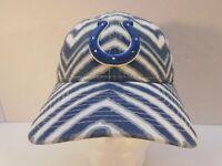 New Era 9Twenty-Zubaz  NFL Indianapolis Colts OSFA Adjustable All Over cap NEW!