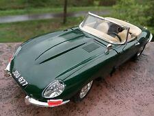 💎💎 Jaguar E-Type (1961) 1:18 Modell 💎💎 bespielt