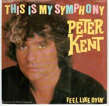 "<0337-19> 7"" Single: Peter Kent - This Is My Symphonie"