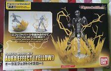 Bandai model kit effect aura yellow figure-rise standard and s.h.figuarts