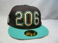 New Era 59fifty Seattle Mariners Area Code 206 BRAND NEW Fitted cap hat MLB