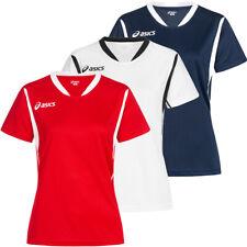 ASICS Sara Damen Tennis Oberteil Sport Shirt T256Z7 Größe XS - XL neu