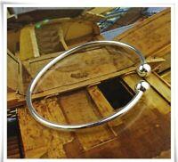 Damen Armband 925 Sterling Silber Klassische Armreif Geschenk Women's Bracelet.