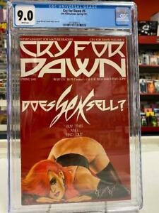 CRY FOR DAWN #5 (1991) CGC Graded 9.0 ~ Joseph Michael Linsner ~ White Pages