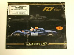 FLY 1:32 Scale Slot Car Catalog for the year 1998 - Rare!