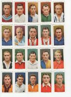 Wills's Association Footballers Tobacco Cards Complete Set of 50