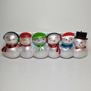NEW 2014 Hallmark CHRISTMAS CONCERT SNOWMEN Section 1 Base - Lights Music
