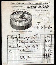 """MONTROUGE (92) USINE PRODUITS d'ENTRETIEN CIRAGE """"LION NOIR"""""""