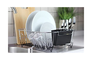 NEW In Sink Dish Drying Rack Neat-O Chrome-plated Steel Dish Drainers