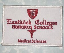 Eastwick Colleges Hohokus Schools Patch - Medical Sciences