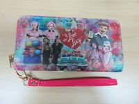 I Love Lucy Collectible Colorful Collage Zipper Wallet - Brand New - Licensed