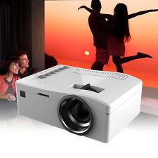 Smart Mini LED LCD Projector 1080P HD HDMI AV USB VGA SD Home Cinema Theater