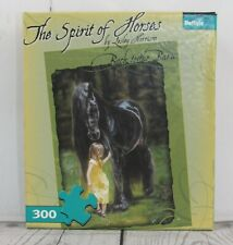 The Spirit of Horses Puzzle Back to the Barn Lesley Harrison 300 Piece
