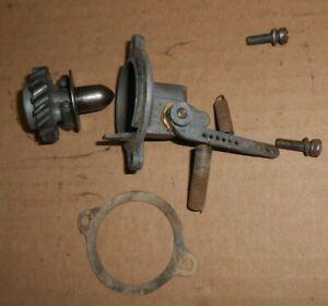 Briggs model N mechanical governor