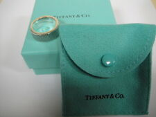 TIFFANY & Co. Sterling Silver COIN EDGE Wide Band RING   Mint