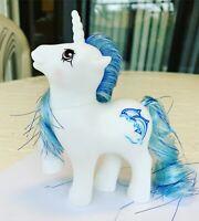G1 Style Pony Custom Hqg1c - Delphina - Unicorn