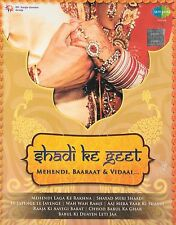 SHADI KE GEET - MEHENDI , BAARAAT & VIDAAI - 3CDs SET - BOLLYWOOD FILM SONGS CDs