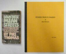 SIGNED! STORIES FROM EL BARRIO & DOWN THESE MEAN STREETS by PIRI THOMAS 1967
