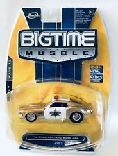 Jada Big Time Muscle '70 Ford Mustang Boss 429 1/64 Real Riders Rubber Tires