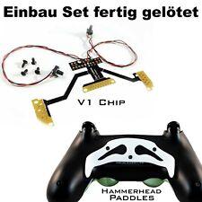 Ps4 Controller remapper soldadura con estaño, chip v1 + martillo blanco paddles y tornillos