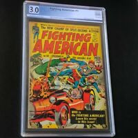 Fighting American #1 (Prize 1954) 💥 PGX 3.0 💥 Rare Jack Kirby Golden Age Comic
