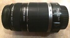 Canon EF-S 55-250mm F4-5.6 IS STM Lens for Canon SLR Cameras Pre-Owned