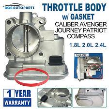 THROTTLE BODY FOR JEEP DODGE Chrysler Caliber Patriot 04891735AC 07-16 W/ Gasket