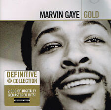MARVIN GAYE - GOLD - Definitive Collection - 2 CDs of Digitally Remastered Hits!