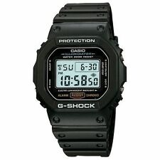 Casio DW5600E-1V, G-Shock 200 Meter Watch, Chronograph, Resin Strap, Alarm