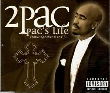 2PAC feat ASHANTI & T.I.   Pac's Life   2 TRACK CD NEW - NOT SEALED