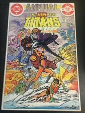 New Teen Titans Annual#1 Incredible Condition 9.4(1982) Perez Art!!