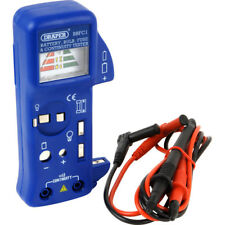 New Draper 57574 Battery, Bulb and Fuse Continuity Tester / checker with probes