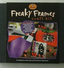 Halloween Craft Kit Freaky Frame Maybe 2002 Costume Complete Set Easy Fun 6+