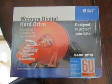 "Western Digital WD 60GB Internal 5400 RPM 3.5"" Ultra ATA/100 Hard Drive - Sealed"