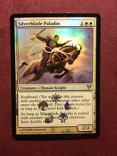 Silverblade Paladin foil promo    MTG PLAYED (see scan)