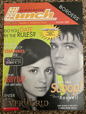 Scholastic Shiri Appleby Jason Behr Teen Magazine Clipping - Cover Only Roswell