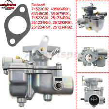 Carburetor For Case Ih 13794 251234r94 405004r91 63349c91 Cub 154 184 185 Lo Boy