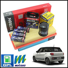 KIT SPECIFICO GPL / METANO FIAT 500L GPL 1.4 70KW 2012>