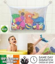 Baby Bath Toy Tidy Storage Net Suction Cup Bag Mesh Shower Bathroom Organiser