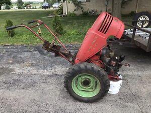 David bradley walk behind tractor Antique Sears Roebuck Briggs Engine Original!