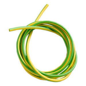 PVC Earth sleeving Green Yellow 2mm 3mm 4mm 5mm 6mm.. Electrical wire cable.