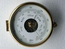 Barigo Vintage Marine Brass Barometer  - Made In Germany