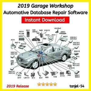 n2019 Car Workshop🔧⚙️ Database Garage🔧⚙️Repair data 🔧⚙️Software Technical🔧⚙️